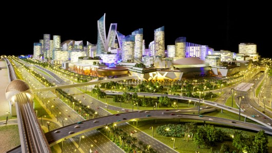 new mall of the world development in dubai